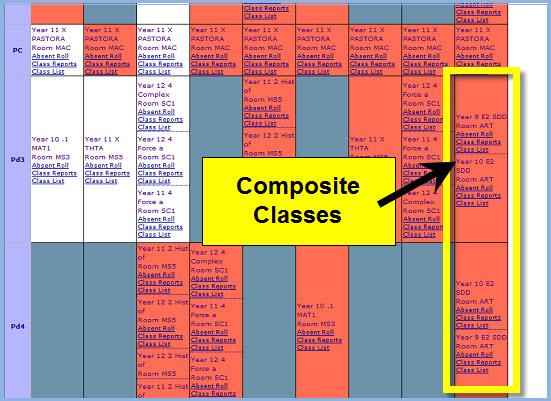 Composite Classes
